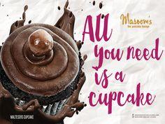 All you need is a malteser cupcake. #Masoomspancakelounge #EidCelebrations #YummyCupcakes