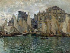 Claude-Oscar Monet - The Museum at Le Havre [1873]