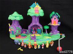 Vintage Polly Pocket Disney Winnie The Pooh 100 Acre Wood 100% Complete