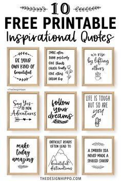 Free Motivational Quote Printable - Mistakes Are Proof That You Are Trying