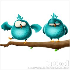 Blue Birds | by Is Cool Art