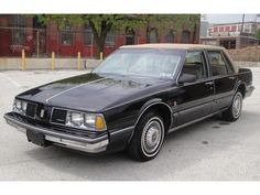 1986 Oldsmobile Delta 88 Royale Brougham by That Hartford Guy, via Flickr- Another car we had-it was black and silver..dv