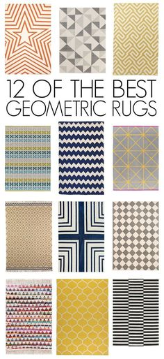 12 of the Best (Affordable! Been eyeballing the one on the bottom right from Ikea awhile now. Eyebrow Makeup Tips Living Room Flooring, Living Room Decor, Ikea Rug, Flat Ideas, Geometric Rug, Living Room Inspiration, Soft Furnishings, Rugs On Carpet, Hall Carpet