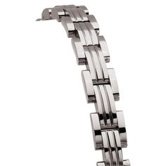 Titanium, 8.5 inch mens link bracelet. Part of our exclusive REVV line. REVV has bold, clean, modern and masculine designs in rugged titanium and steel. Understated and sophisticated!