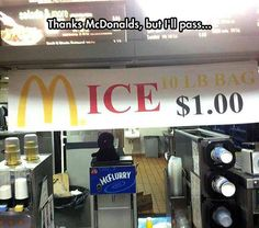 McDonald's New Menu  // funny pictures - funny photos - funny images - funny pics - funny quotes - #lol #humor #funnypictures