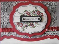 GOTHIC ELEGANCE  BIRTHDAY CARD - APOTHECARY ART