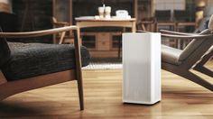 新一代小米空气净化器变得更加小巧了