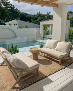 The Beach People | Makers of Seaside Luxe Essentials |Original Roundie Dream Home Design, My Dream Home, Home Interior Design, Interior Architecture, Interior And Exterior, Modern House Design, Exterior Design, Future House, Outdoor Spaces