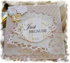 Shabby Chic Note Card