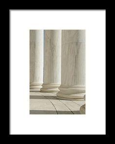 Pillars Framed Print by Brandon Bourdages.  All framed prints are professionally…