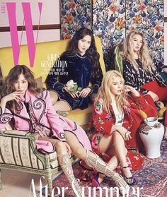 Magazine cover snsd