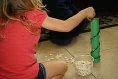 Jack and the Beanstalk activities-capacity, how many beans fit inside the beanstalk?