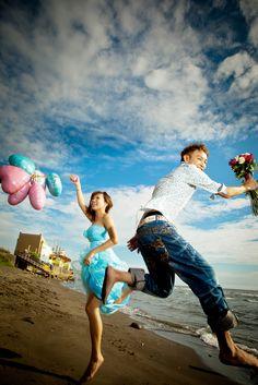 pre-wedding photos  nature style