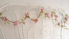 easymomentsandobsession:  I bought fake flowers to put on my ~princess bed~