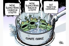 Editorial cartoon for April 6 2014 by Greg Perry #ClimateChange #editorialcartoon