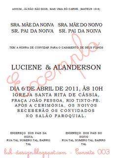 Convite 003 - by luh-design.blogspot.com