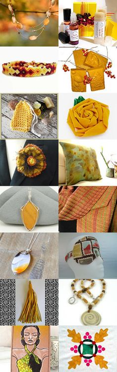 Golden Days of Autumn by Karen Relfe on Etsy--Pinned with TreasuryPin.com