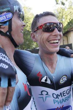Winning smile-Tony Martin- TTT Florence 2013.