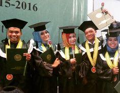 Happy graduation for us