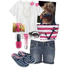 Ready for Summer!! Plus Size, created by kerimcd on Polyvore