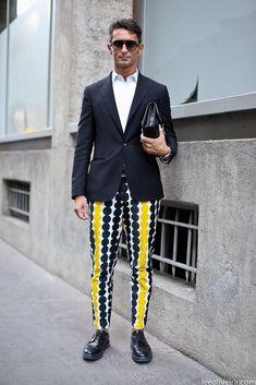 "theboyinkenzo: "" Simone Marchetti outside the Maison Martin Margiela show "" - theboyinkenzo: Simone Marchetti outside the. Men's Fashion, High Fashion, Fashion Editor, Fashion Menswear, Dandy, Mode Style, Stylish Men, Dapper, Style Guides"