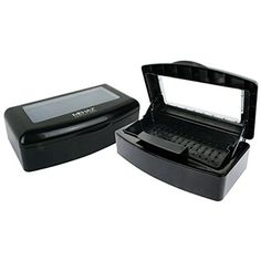 MEHAZ Professional Disinfectant Tray is for disinfecting manicure and pedicure implements, skin care implements, hair shears and sterilizable files Color: Black. Pedicure Tools, Manicure And Pedicure, Pedicures, Nail Tools, Home Spa Room, Becoming An Esthetician, Fast Nail, Pedicure Station, Esthetics Room