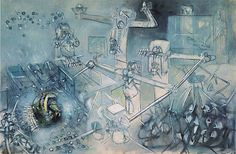 roberto matta - a great chilean painter. Dream Painting, Painting & Drawing, Famous Artists, Great Artists, Modern Art, Contemporary Art, Polynesian Art, Picasso Art, Classical Art