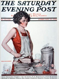 i've been on the lookout for affordable copies of the saturday evening post to no avail. *sigh* when i want to collect something it always has to be difficult.