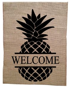 Burlap Garden Flags are the perfect addition to your front landscape! Available in a variety of designs, you are sure to find the perfect one for any occasion!   www.monogramlayne.storenvy.com