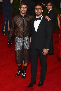 Marc Jacobs (with Lorenzo Martone) in Commes des Garcons: really Marc?!