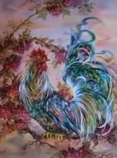 Rooster by Alex and Irina Timakov