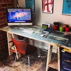 DIY Desk for my office.