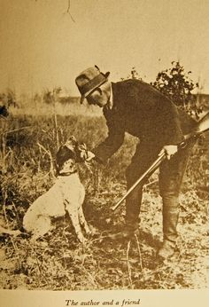 One of the original conservationist, Nash Buckingham quail hunting in the south