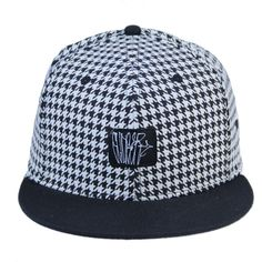 Slinger Houndstooth Fitted #art #cf-size-7 #cf-size-7-1-2
