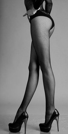 Stockings and heels - hmmmm.....