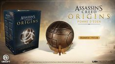 The Ubisoft Store has listed the Assassin's Creed Origins - Apple Of Eden Edition. Ubicollectibles proudly presents one of the most mysterious artifacts of the Assassin's Creed franchise: the Apple of Eden. Discover the official reproduction of the relic that will be seen in Assassin's Creed Origins. Thanks to its LED system, this life size replica will illuminate from within with the press of a button and will be displayed on its fine Egyptian-styled base. ARTIFACT DESCRIPTION Among the…