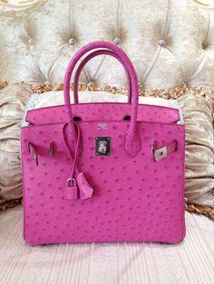 cheap hermes bags online - Sacs de Cr��ateur - Hermes Bougainvillea Ostrich Leather 35cm ...