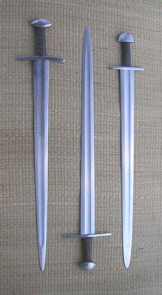 Type X swords: Albion Stamford, Albion Reeve, Windlass Ulfberht