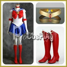 OMG why couldnt i have found this when i was like a size 6 darn it  Tsukino Usagi Serena From Sailor Moon Cosplay by procosplay, $119.00