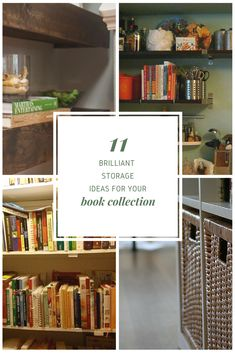 Brilliant Book Storage Ideas Thatll Make You Toss Your Kindle