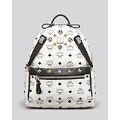MCM Backpack - Dual Stark Pocket Small Mcm Purse, Mcm Bags, Purses And Bags 351329329d
