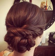 Creative and Elegant Wedding Hairstyles for Long Hair Trend Alert: Creative and Elegant Wedding Hair Wedding Hairstyles For Long Hair, Fancy Hairstyles, Wedding Hair And Makeup, Bridal Hair, Hairstyle Wedding, Vintage Hairstyles, Elegant Wedding Hair, Elegant Updo, Braut Make-up