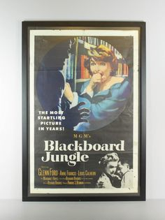 Renew Gallery | Blackboard Jungle Vintage Movie Poster