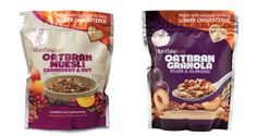 MornflakeGold luxury oatbran-based granolas and mueslis in resealable pouches