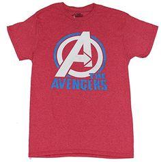 The Avengers (Marvel Comics) Mens T-Shirt - White A Circl... http://www.amazon.com/dp/B014LWB5C4/ref=cm_sw_r_pi_dp_n4Lvxb1KMTZEB