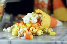 Candy Corn Cones
