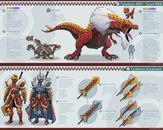 Tyrantrum's Craftable Equipment (Pokemon) (Monster Hunter)