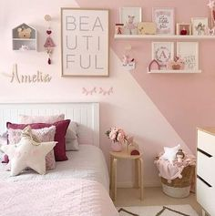Dresser clothing storage magical decor girl bedroom Looking for the perfect theme for your little girl room? Get inspired by our selection of popular decor ideas for your baby girl nursery and little girl bedroom.