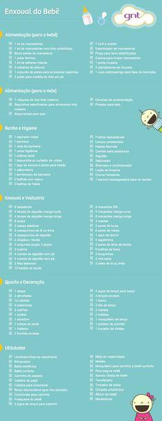 Lista de enxoval de bebê completa - Mães - GNT