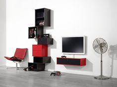 Flexibel förvaring av vår tillverkare Hammel. EM Möbler - Mistral. Shelves, Home Decor, Shelving, Decoration Home, Room Decor, Shelf, Interior Design, Home Interiors, Book Shelves
